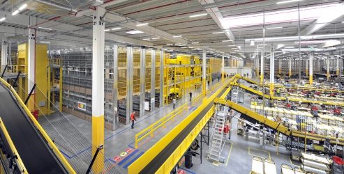 Amazon nimmt neues Logistikzentrum in Polen in Betrieb
